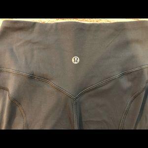 Lululemon gray workout leggings